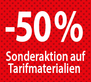 Banner Bottom 50% Tarif-Sonderaktion