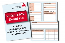 IG BCE-Nothilfe-Pass »Notruf 112«